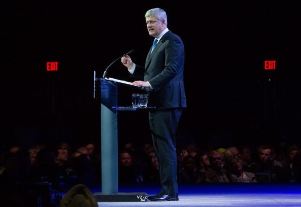 Stephen Harper a fait ses adieux officiels.... (La Presse Canadienne)