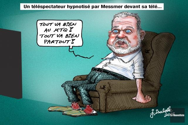 la caricature du jour... (Jean Isabelle, Le Nouvelliste)