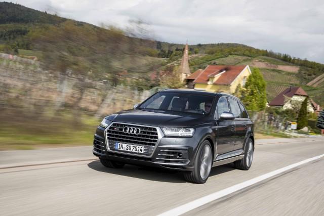 L'Audi SQ7 2017... (fournie par Audi)