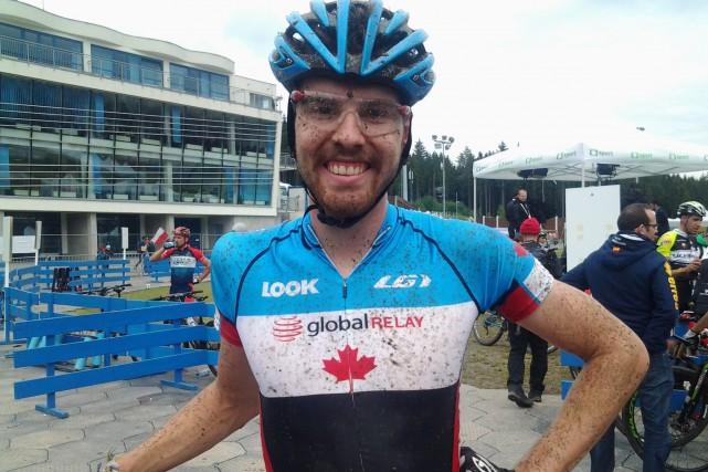 Léandre Bouchard a réalisé la meilleure performance canadienne,... (Photo courtoisie)