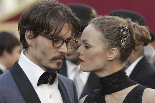 Johnny Depp a partagé la vie de Vanessa... (AP)