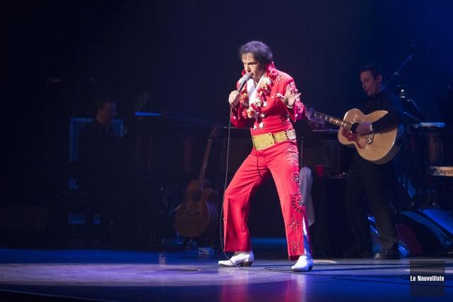 Elvis Lajoie sera en spectacle à la salle... (Photo: Stéphane Lessard Le Nouvelliste)