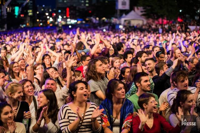 Une foule importante s'était déplacée l'année dernière lors... (PHOTO EDOUARD PLANTE-FRÉCHETTE, ARCHIVES LA PRESSE)