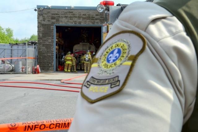 Une personne a été tuée lors d'une déflagration... (Photo collaboration spéciale Éric Beaupré)