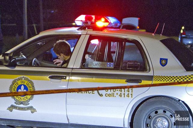 Les policiers de la Sûreté du Québec (SQ) ont encore eu affaire à un chauffard... (Archives La Presse)