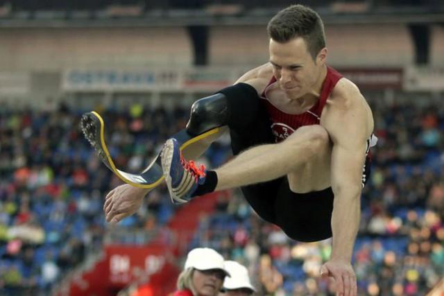 MarkusRehm ambitionne d'être le deuxième athlète avec une... (PHOTO PETR DAVID JOSEK, ARCHIVES AP)