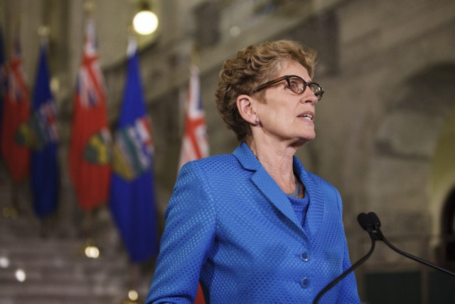 Kathleen Wynne... (Codie McLachlan, Archives PC)