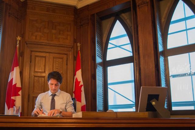 La nouvelle doctrine à Ottawa, la «livrologie», est... (Photo IVANOH DEMERS, archives LA PRESSE)