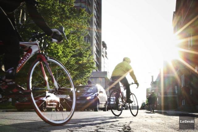 Tourisme Outaouais mise sur le vélo dans le... (Archives LeDroit)
