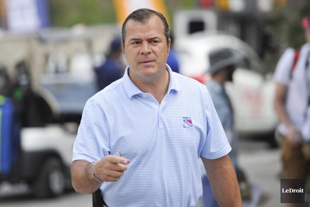 L'entraîneur-chef des Rangers de New York, le Gatinois... (Martin Roy, LeDroit)