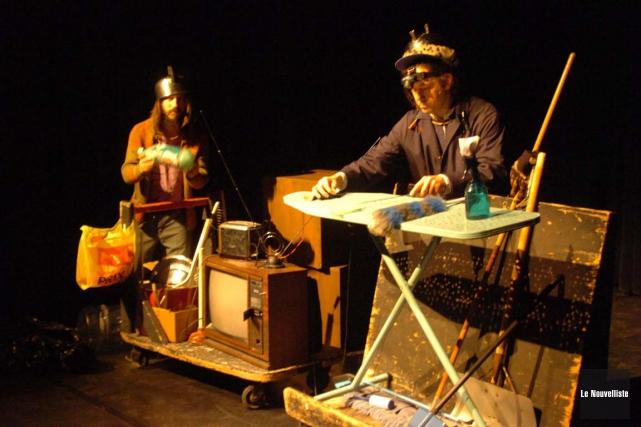 Plusieurs artistes et compagnies québécoises et internationales seront... (Sylvain Mayer, Le Nouvelliste)