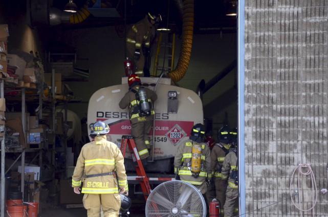 Un travailleur a été tué lors d'une déflagration... (Collaboration spéciale, Éric Beaupré)