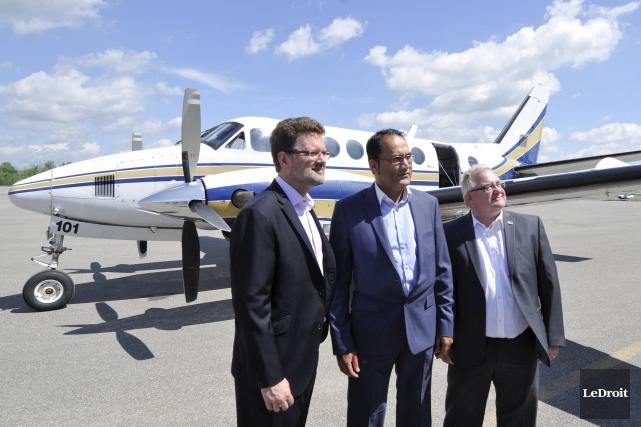 Cette liaison permet de relier la métropole québécoise... (Martin Roy, LeDroit)