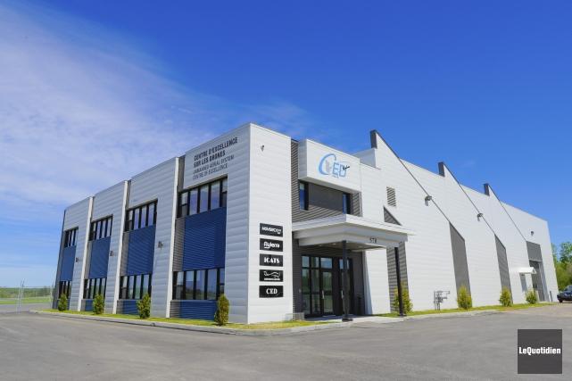Centre d'excellence des drones d'Alma... (Le Quotidien, Gimmy Desbiens)