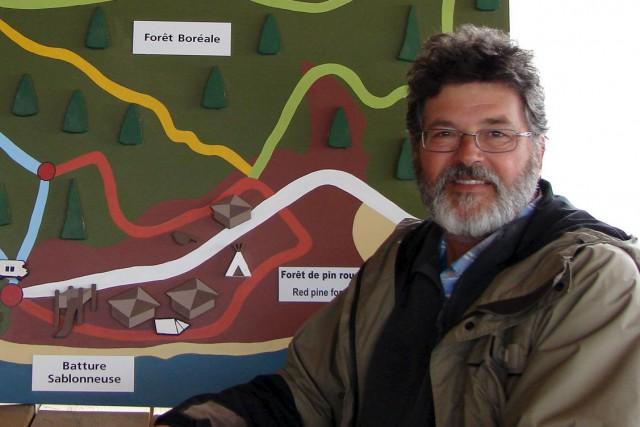 Le directeur général du Parc Nature, Denis Cardinal...