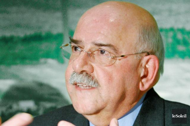 Jean Pronovost, qui a déposé récemment un rapport... (Photothèque Le Soleil)
