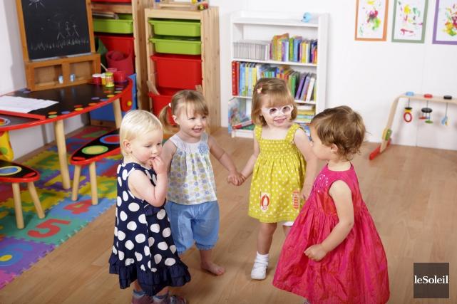 Les centres de la petite enfance (CPE) doivent composer avec des coupes... (Photothèque Le Soleil)