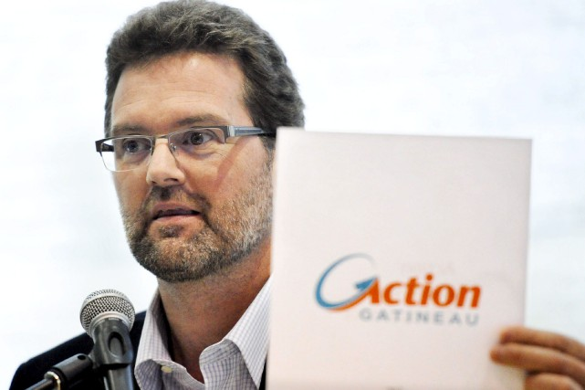 Le maire et chef du parti Action Gatineau,... (Martin Roy, Archives LeDroit)