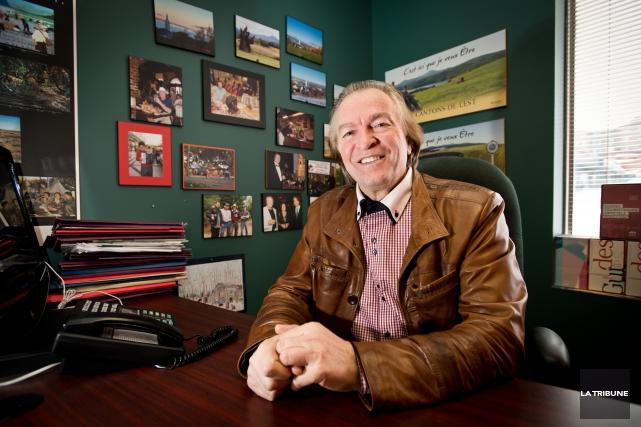 Alain Larouche, directeur général de Tourisme Cantons-de-l'Est.... (Archives, La Tribune)