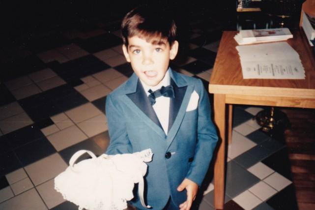Denis Roux-Bergevin avait cinq ans et demi lorsqu'il... (photo fournie par la famille)