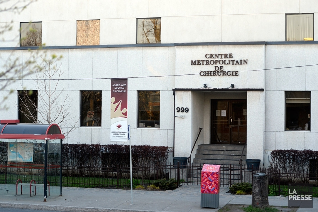 Le Centre métropolitain de chirurgie est situé sur... (PHOTO BERNARD BRAULT, ARCHIVES LA PRESSE)