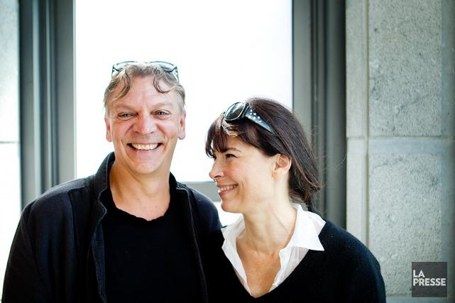 Marc Labrèche et Anne Dorval rejoignent l'équipe duBye... (PHOTO MARCO CAMPANOZZI, ARCHIVES LA PRESSE)
