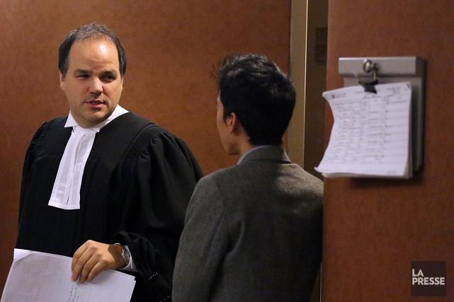 L'avocat Alexandre Bergevin (photo) a fait valoir que... (PHOTO Martin Chamberland, archives LA PRESSE)
