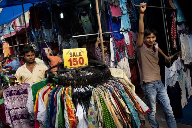 L'Inde a affiché sur ce trimestre un rythme... (Photo Bernat Armangue, AP)