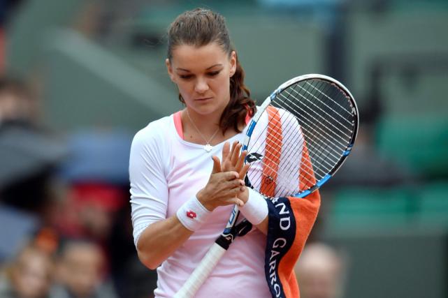La numéro 2 mondiale Agnieszka Radwanska a étébattue... (Photo Philippe Lopez, AFP)