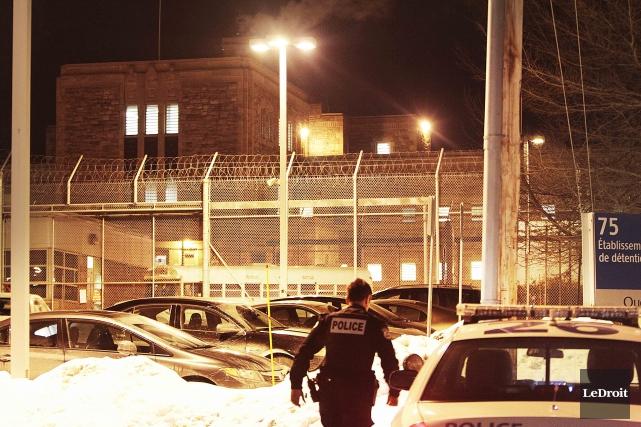 Une émeute avait éclaté à la prison de... (Etienne Ranger, Archives LeDroit)