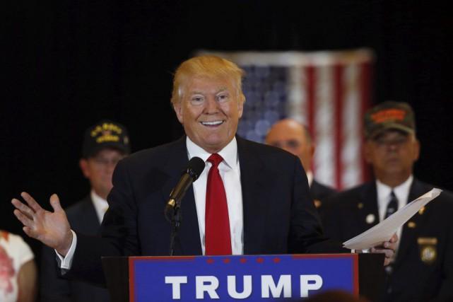 Donald Trumpa participé à une conférence de presse... (PHOTO LUCAS JACKSON, REUTERS)