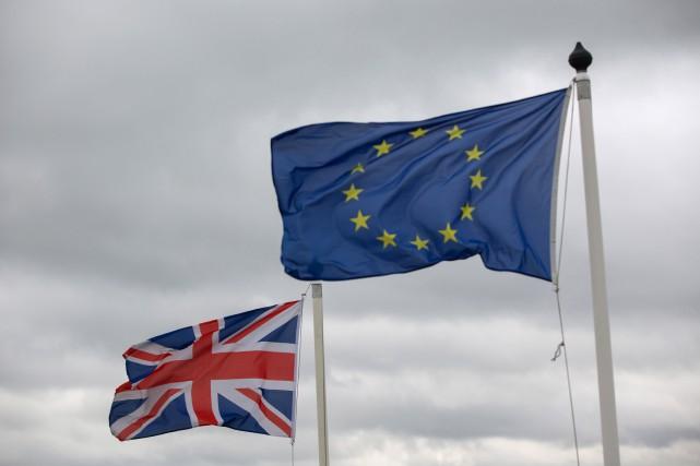 «Le scénario du Brexit (contraction de Britain et... (PHOTO KRISZTIAN BOCSI, ARCHIVES BLOOMBERG)