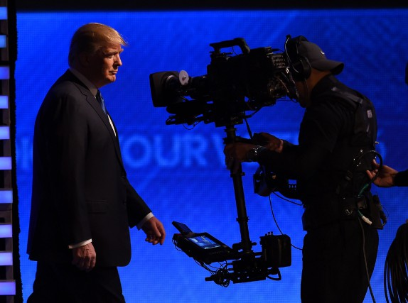 « La participation de Donald Trump aux débats sur... (Photo Jewel Samad, archives Agence France-Presse)