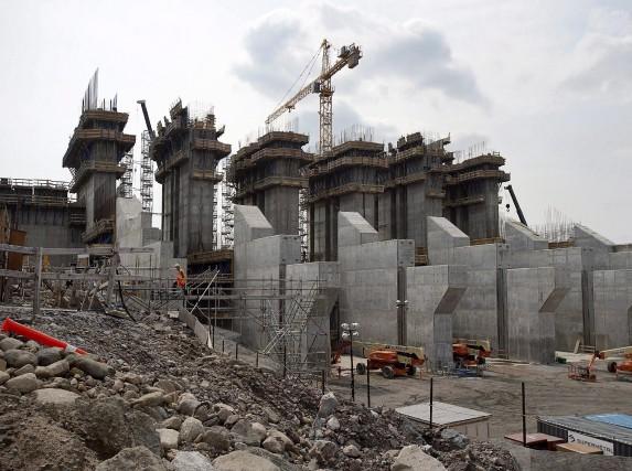 La centrale hydroélectrique de Muskrat Falls coûtera bien... (Photo Andrew Vaughan, archives La Presse Canadienne)