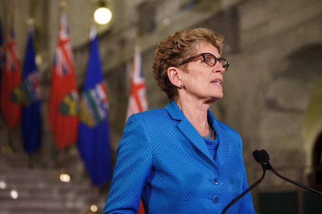 La première ministre de l'Ontario, Kathleen Wynne... (Photo Codie McLachlan, La Presse Canadienne)