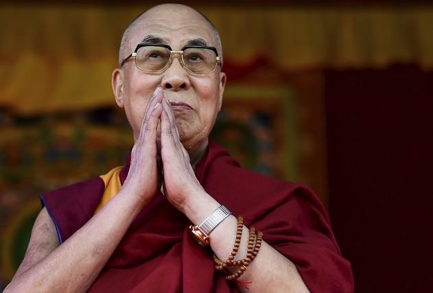 Le Dalaï Lama estime lesréfugiés «ne devraient être... (AFP, Ben Stansall)