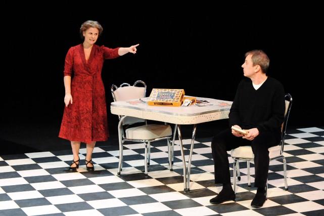 Guylaine Tremblay et Henri Chassé présenteront la pièce... (Photo courtoisie, Caroline Laberge)