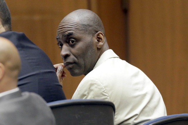Michael Jace risque 40 ans de prison.... (PHOTO AP)