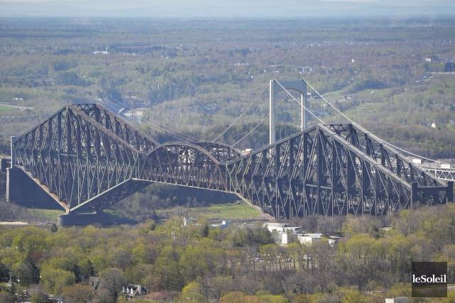 Le pont de Québec a été désigné «lieu... (Photothèque Le Soleil, Pascal Ratthé)