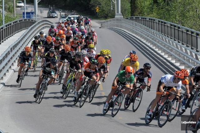 La troisième édition du Grand Prix cycliste de... (Archives Le Quotidien, Michel Tremblay)