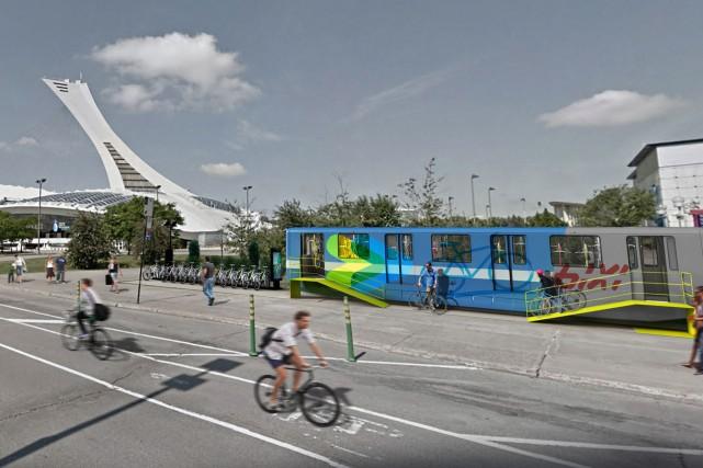 Une firme d'architecte, Groupe Leclerc, propose de transformer... (IMAGE FOURNIE PAR LE GROUPE LECLERC)