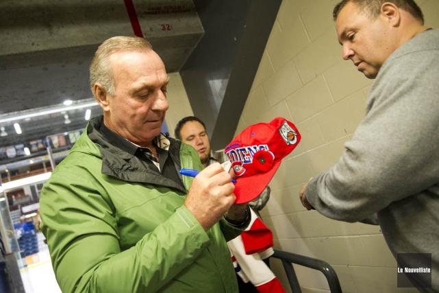 Guy Lafleur sera un des Anciens Canadiens qui... (Andréanne Lemire, Le Nouvelliste)