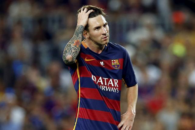 Lionel Messi est poursuivi pour avoir évité le... (Photo Albert Gea, archives Reuters)