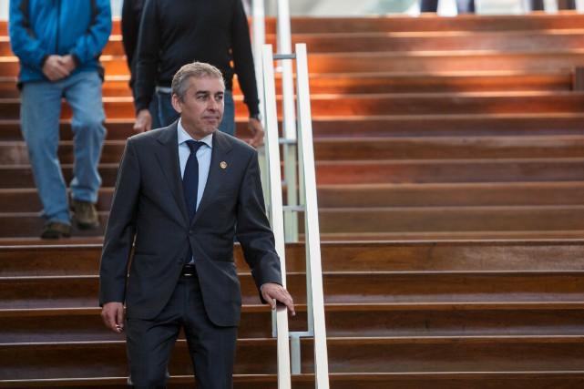 Nicolas Marceau, député de Rousseau et ancien ministre... (PHOTO ULYSSE LEMERISE, COLLABORATION SPÉCIALE)