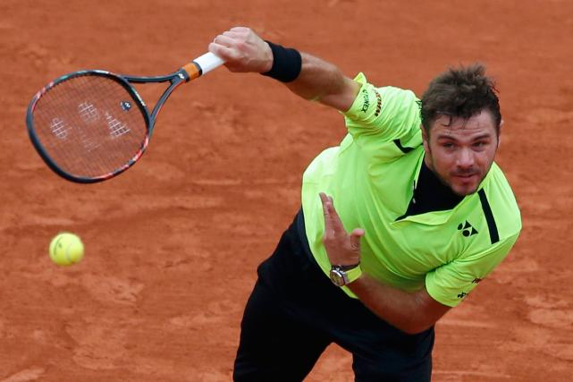 Le champion en titre de Roland-Garros Stanislas Wawrinkaa... (Photo Pascal Rossignol, Reuters)