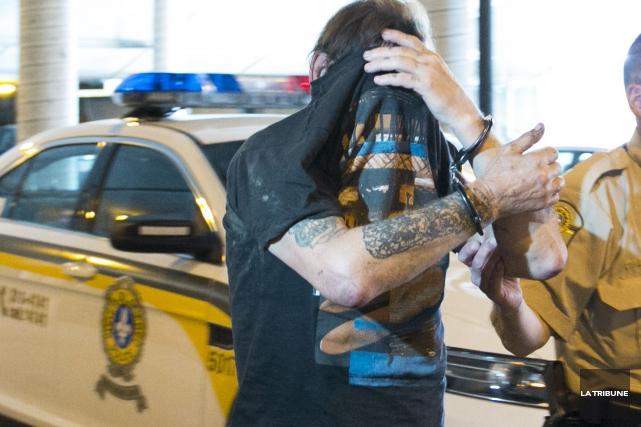 Marcel Bergeron a été arrêté la semaine dernière.... (Archives, La Tribune)
