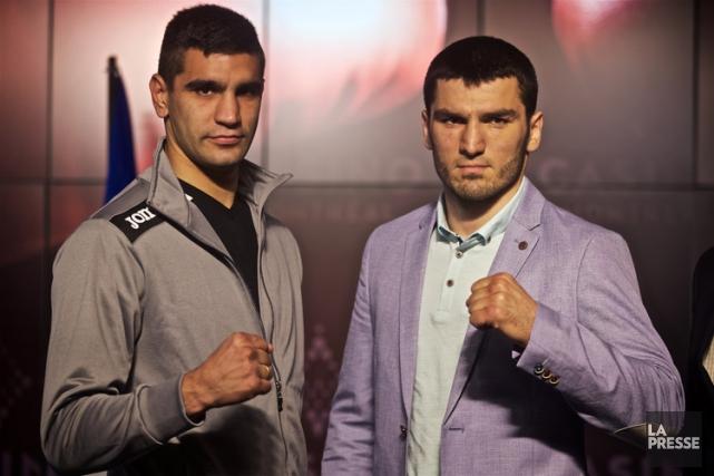 Artur Beterbiev (à droite) tentera de poursuivre son... (PHOTO ANDRÉ PICHETTE, LA PRESSE)