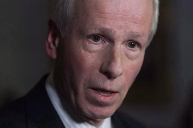 Le ministre des Affaires étrangères du Canada, Stéphane... (Archives La Presse Canadienne, Adrian Wyld)