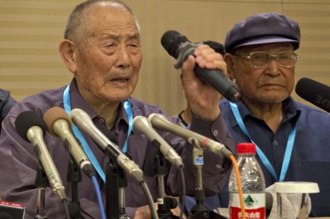 L'entente a été signée à Pékin avec trois... (Associated Press)