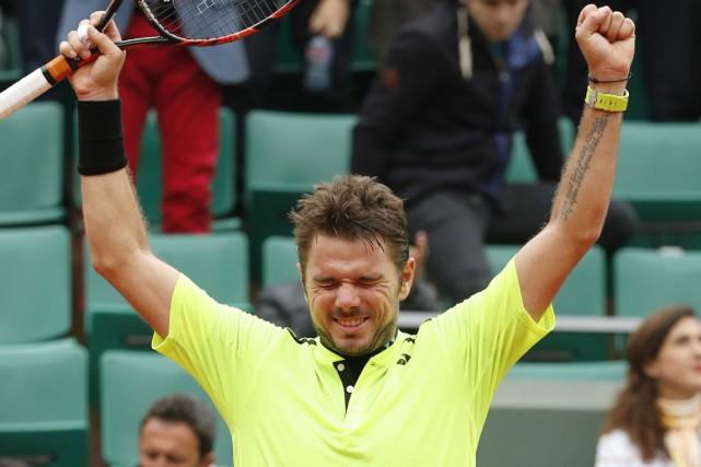 Stanislas Wawrinka estdevenu le premier Suisse outre Roger... (Associated Press)